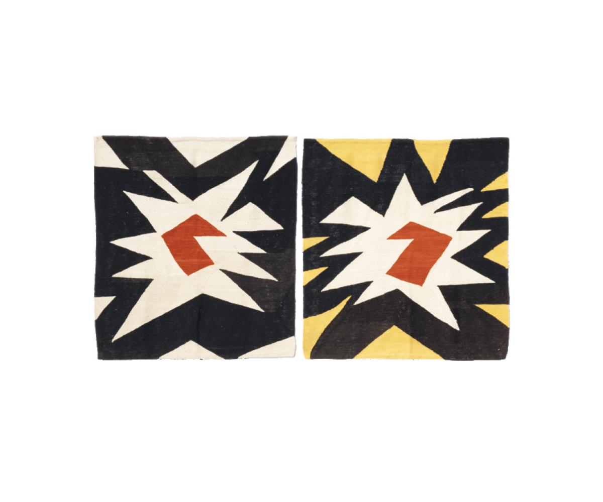 Mini Bangs 1991 - 105 x 105 cm